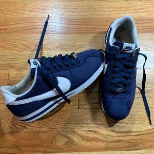 Nike Cortez Navy Blue & White
